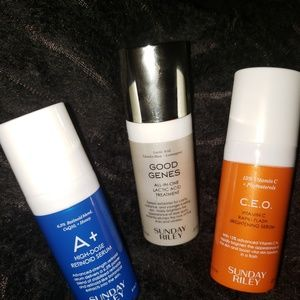 BUNDLE OF SUNDAY RILEY PRODUCTS CEO SERUM